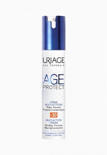 Age Protect Crème Multi-Actions SPF30 Uriage Rides, fermeté et protection lumière bleue