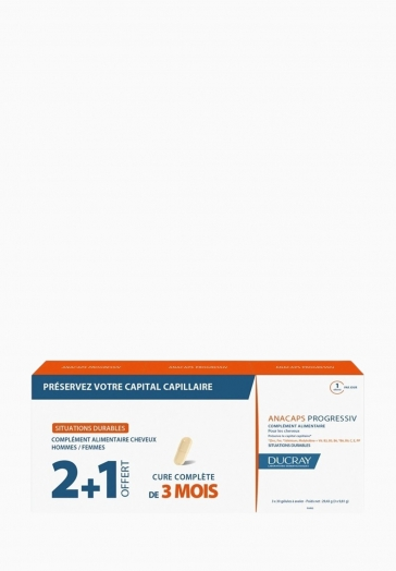 Anacaps Progressiv Ducray Gélule préservant le capital capillaire