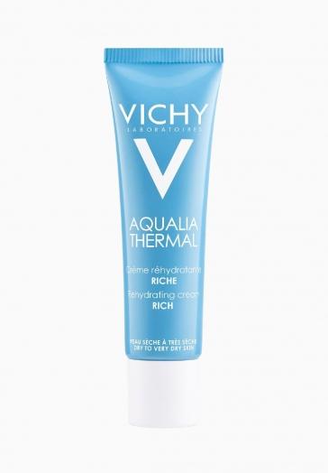 Aqualia Thermal Crème Réhydratante Riche Vichy Peau sèche à très sèche