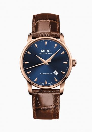Baroncelli Midnight Blue Gent Mido M8600.3.15.8