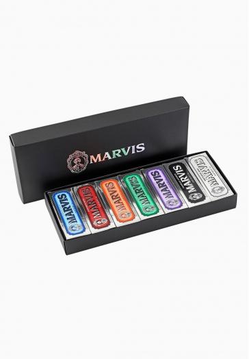 Boîte Luxe Découverte - 7 x 25 ml Marvis 7 mini-dentifrices rafraîchissants