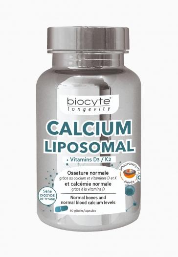 Calcium Liposomal Biocyte Gélules de Vitamines D3/ K2-K7