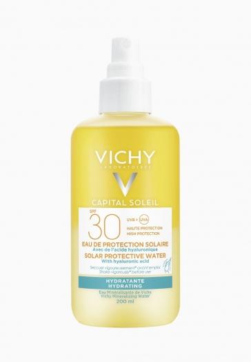 Capital Soleil Eau de protection solaire SPF30 Vichy Hydratante et légère
