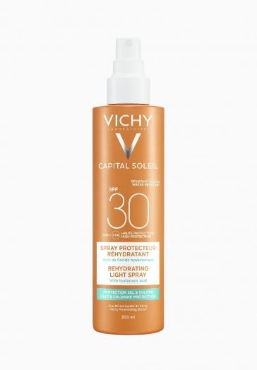 Capital Soleil Spray SPF30 Vichy Spray protecteur réhydratant