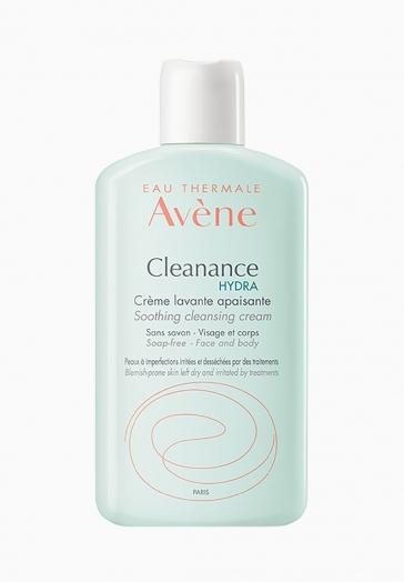 Cleanance Hydra Avène Crème lavante apaisante visage et corps sans savon