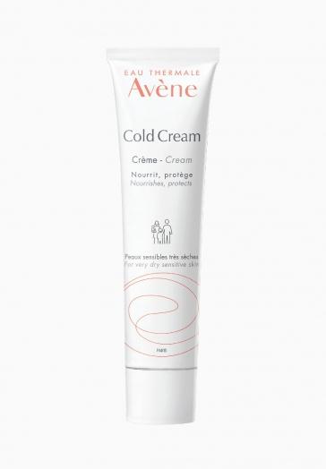 Cold Cream Crème Avène Soin nourrissant et protecteur pour peaux sensibles très sèches