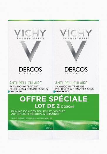 Dercos Shampooing Anti-pelliculaire Vichy Traite pellicules et démangeaisons