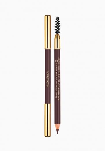 Dessin des Sourcils Yves Saint Laurent Crayon Sourcils avec Brosse Spirale