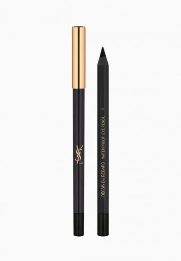 Dessin du Regard Waterproof Yves Saint Laurent Crayon Yeux Waterproof et Longue Tenue