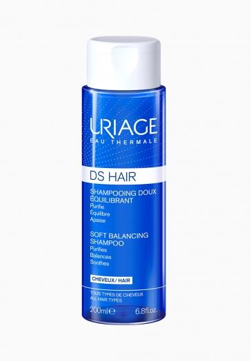 DS Hair Shampooing Doux Équilibrant Uriage Purifie, équilibre et apaise