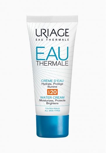 Eau Thermale Crème d'Eau SPF20 Uriage Hydratante et protectrice