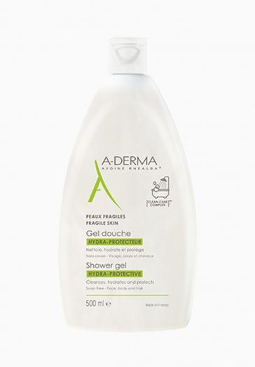 Gel Douche Hydra-Protecteur A-Derma Nettoie, hydrate et protège les peaux fragiles