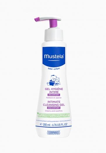 Gel hygiène intime Mustela Nettoie et appaise
