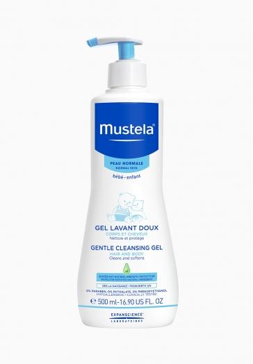 Gel Lavant Doux Mustela Hypoallergénique, sans savon