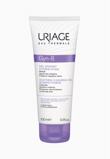 Gyn-8 Gel moussant Uriage Hygiène intime