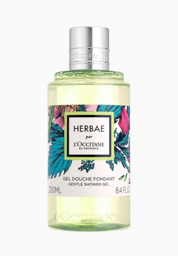 Herbae L'Occitane Gel Douche à la Texture Fondante
