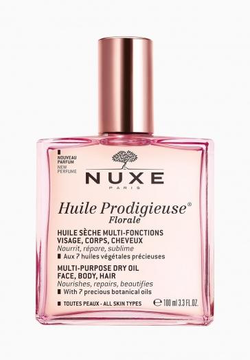 Huile Prodigieuse Florale Nuxe Huile sèche multi-fonctions visage, corps, cheveux