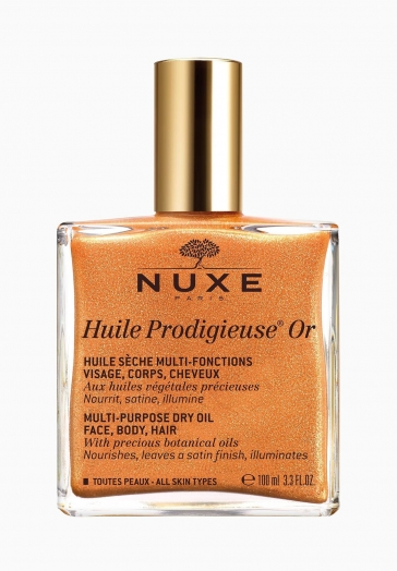Huile Prodigieuse Or Nuxe Huile sèche multi-fonctions visage, corps, cheveux