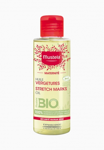 Huile vergetures certifié BIO Mustela Sans parfum