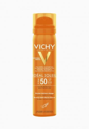 Idéal Soleil Brume fraîcheur visage Vichy Crème solaire visage