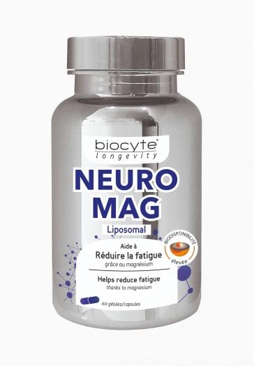 Magnésium Liposomal Biocyte Gélules aidant à réduire la fatigue et le stress
