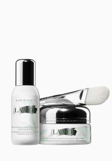 Le Masque Éclaircissant Intense La Mer Masque-crème sans rinçage apaisant en 2 étapes
