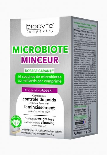 Microbiote Minceur Biocyte Comprimés contribuant au contrôle du poids