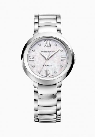 Promesse 10238 Baume & Mercier Montre automatique sertie de diamants
