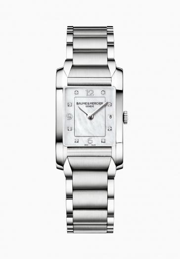 Hampton 10050 Baume & Mercier Montre à quartz sertie de diamants
