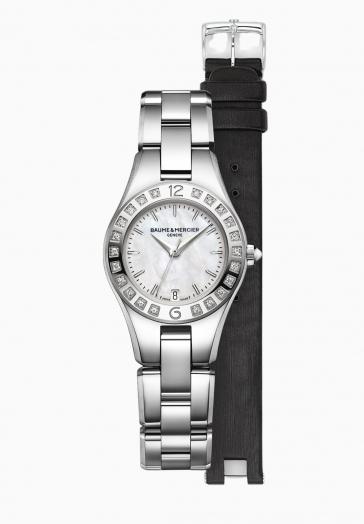 Linea 10078 Baume & Mercier Montre à quartz sertie de diamants