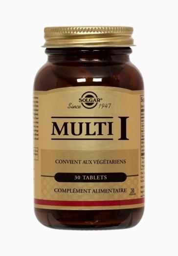 Multi I Solgar Complexe multi-vitaminé pour tous, toute l'année