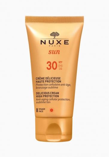 Nuxe Sun Nuxe Crème Délicieuse Visage Haute Protection SPF30
