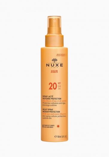 Nuxe Sun Nuxe Spray Lacté Moyenne Protection SPF20