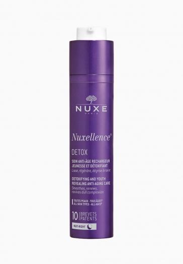 Nuxellence Detox Nuxe Soin anti-âge rechargeur jeunesse et détoxifiant