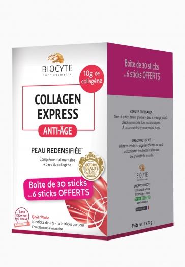Pack Collagen Express Biocyte Complément alimentaire à base de collagène marin