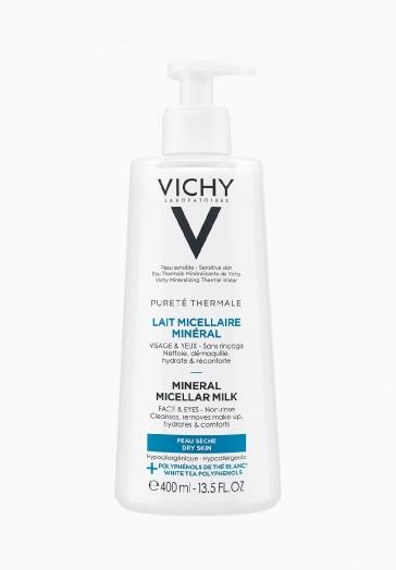 Pureté Thermale Lait Micellaire Minéral Vichy Démaquillant visage et yeux sans rinçage