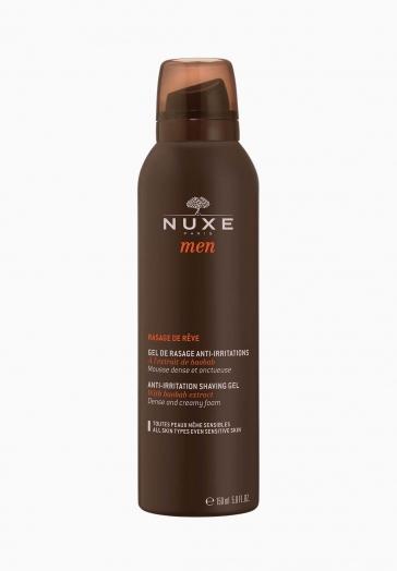 Rasage de Rêve Nuxe Gel de rasage anti-irritations à l'extrait de Baobab