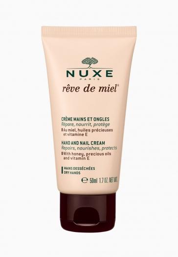 Rêve de Miel Nuxe Crème Mains Et Ongles au miel, huiles précieuses et vitamine E