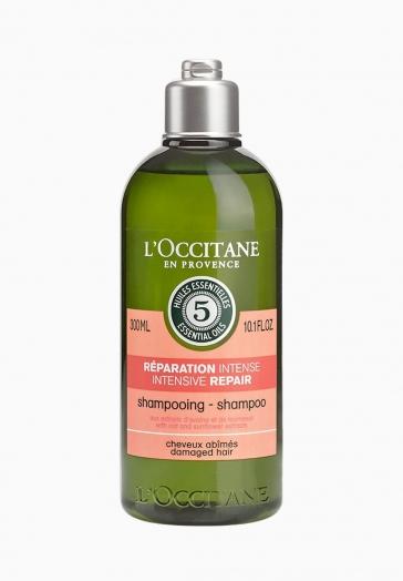 Shampoing Réparation Intense L'Occitane Shampooing aux Extraits d'Avoine et de Tournesol pour les Cheveux Abîmés