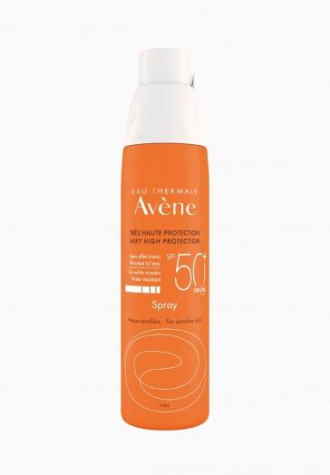 Spray Solaire SPF 50+ Avène Très haute protection solaire pour peaux sensibles