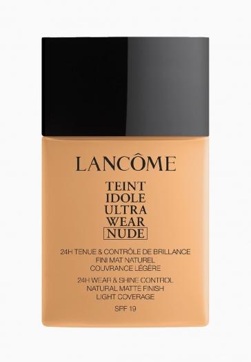 Teint Idole Ultra Wear Nude Lancôme Fond de teint - couvrance légère naturelle & matité longue tenue - jusqu'à 24 heures
