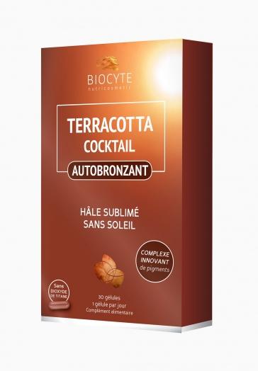 Terracotta Autobronzant Biocyte Gélules pour un hâle sublimé sans soleil
