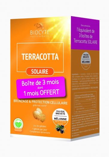 Terracotta Solaire Biocyte Gélules favorisant Bronzage & Protection Cellulaire