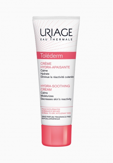Toléderm Crème Hydra-Apaisante Uriage Calme et hydrate