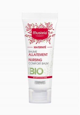 Baume allaitement certifié BIO - Mustela - Film hydratant protecteur