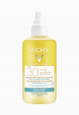 Capital Soleil Eau de protection solaire SPF30 - Vichy - Hydratante et légère