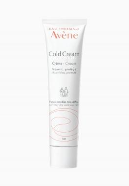 Cold Cream Crème - Avène - Soin nourrissant et protecteur pour peaux sensibles très sèches