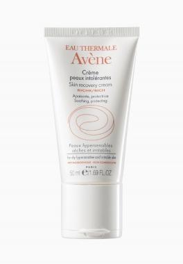 Crème peaux intolérantes Riche - Avène - Crème apaisante et protectrice peaux hypersensibles sèches et irritables