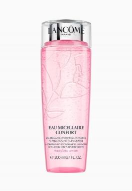 Eau Micellaire Confort - Lancôme - Eau micellaire démaquillante hydratante et apaisante au miel d'acacia et à l'eau de rose