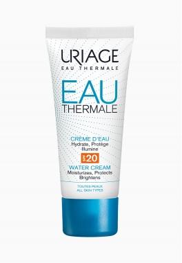 Eau Thermale Crème d'Eau SPF20 - Uriage - Hydratante et protectrice